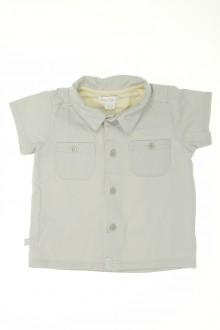 vêtements bébés Polo manches courtes Obaïbi 1 mois Obaïbi