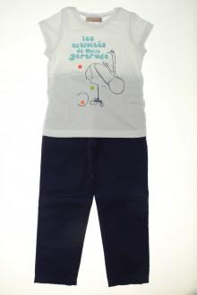 vetement occasion enfants Ensemble pantalon et tee-shirt Lisa Rose 4 ans Lisa Rose