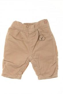 habits bébé occasion Pantalon en velours fin Obaïbi 1 mois Obaïbi